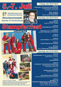 Lineup_-_Stampfenfest_2013