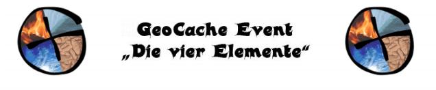 """Geocache Event """"Die vier Elemente"""""""